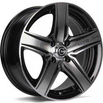 Janta aliaj Carbonado GTR Sports 1 6.5x15 5x98 et35 BFP - Black Front Polished