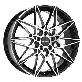 Janta aliaj Carmani 18 Knut 8x19 5x112 et27 black polish
