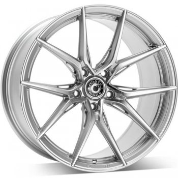 Janta aliaj Wrath Wheels WFX 9.5x19 5x120 et40 SP - Silver polished face