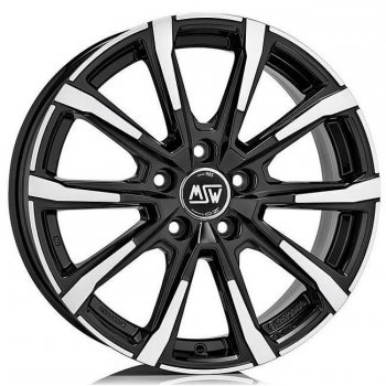 Janta aliaj MSW MSW 79 6.5x16 5x108 et45 BLACK FULL POLISHED (GBFP)