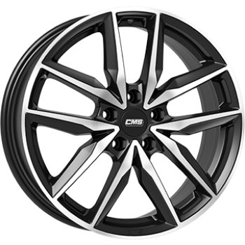 Janta aliaj CMS C28 7.5x18 5x108 et51 Gloss Black / Polished
