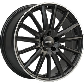 Janta aliaj CMS C23 7.5x17 5x108 et52 Gloss Black / Polished lip