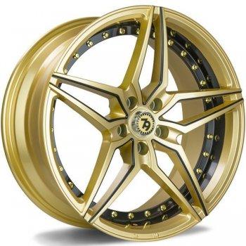 Janta aliaj Seventy9 SV-AR 8.5x19 5x120 et30 GBLMB - Gold Black lip milled black