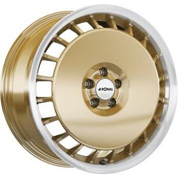 Janta aliaj RONAL R50A 7.5x16 5x100 et38 Gold / Polish