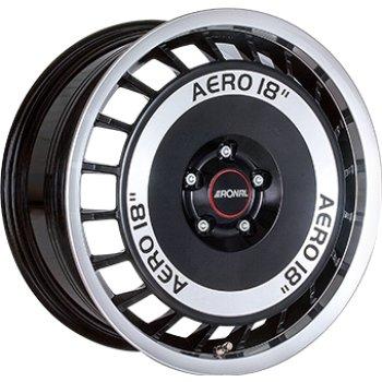 Janta aliaj RONAL R50 AERO 7.5x16 5x100 et38 Gloss Black / Polished