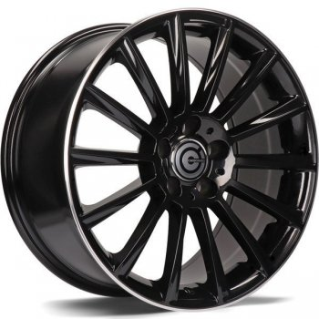 Janta aliaj Carbonado Performance 9.5x19 5x112 et45 BGLP - Black Glossy Lip Polished