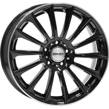 Janta aliaj DIVERSEN MC9 8x18 5x112 et45 Gloss Black / Polished lip