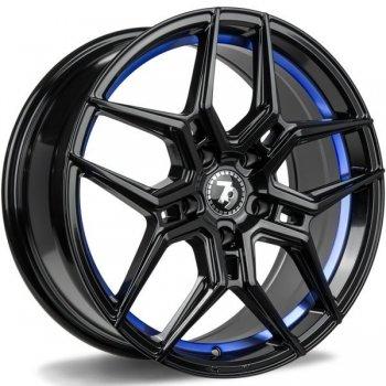 Janta aliaj Seventy9 SV-B 8x18 5x112 et35 BGBIL - Black glossy blue inner lip