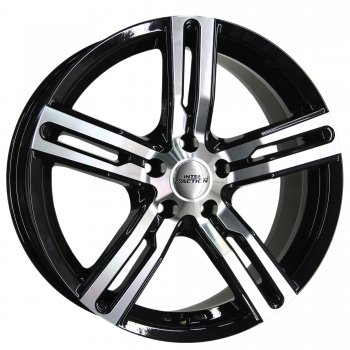 Janta aliaj INTER ACTION KARGIN 6.5x16 5x160 et50 Gloss Black / Polished