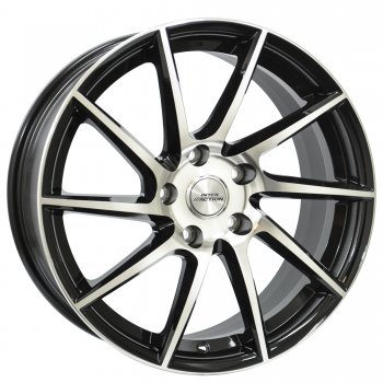 Janta aliaj INTER ACTION RV10 7.5x17 5x100 et35 Black / Polished