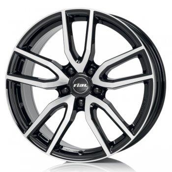 Janta aliaj Rial Torino 6.5x16 5x114.3 et50 negru