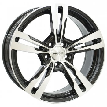 Janta aliaj MONACO GP4 7.5x17 5x112 et45 Gloss Black / Polished