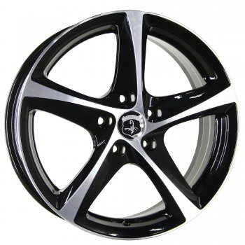 Janta aliaj INTER ACTION TORNADO 6x15 4x108 et25 Black / Polished