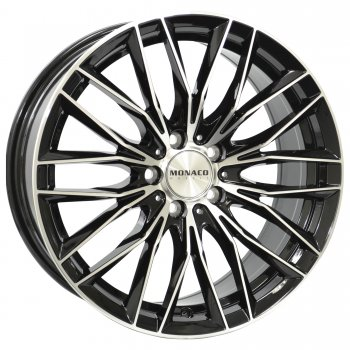 Janta aliaj MONACO GP2 8x18 5x112 et47 Gloss Black / Polished