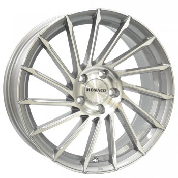 Janta aliaj MONACO TURBINE 8.5x19 5x112 et45 Light Gray Polished