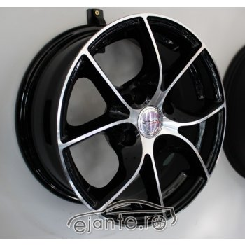 JANTA ALIAJ RACING LINE DRAGON 6X14 4X108 ET25 BLACK DIAMOND