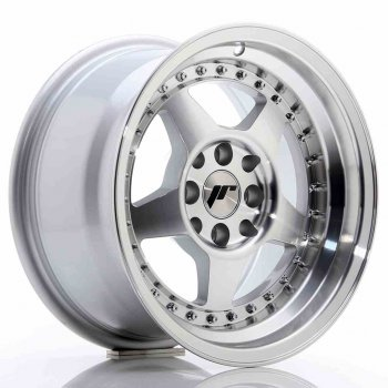 Janta aliaj JAPAN RACING JR6 8x15 4x108 et25 Silver Machined Face