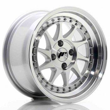 Janta aliaj JAPAN RACING JR26 8x15 4x100 et5 Machined Face Silver