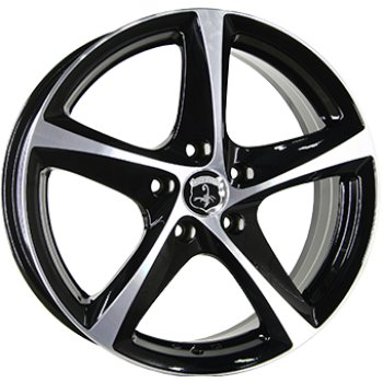 Janta aliaj INTER ACTION TORNADO 6x15 4x114 et43 Gloss Black / Polished