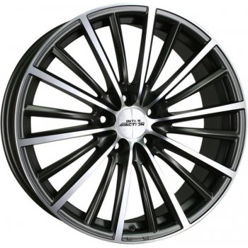Janta aliaj INTER ACTION VELOCITY 7x17 4x100 et37 Dull Anthracite / Polish