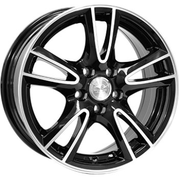Janta aliaj LEAGUE LG279 6.5x15 4x108 et25 Black / Polished