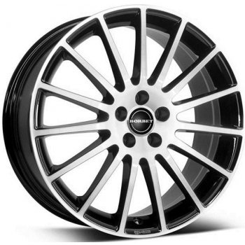 Janta aliaj BORBET LS 7x17 4x114.3 et40 BLACK POLISHED MATT