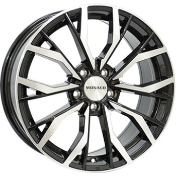 Janta aliaj MONACO GP5 8x18 5x108 et45 Black / Polished