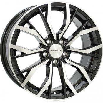 Janta aliaj MONACO GP5 8x18 5x114 et40 Gloss Black / Polished