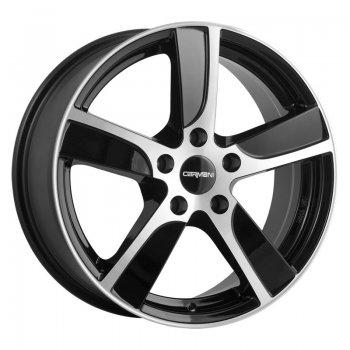 Janta aliaj Carmani 12 Dynamic 7.5x17 5x112 et35 black polish