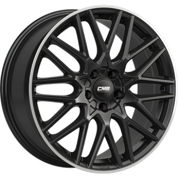 Janta aliaj CMS C25 7.5x18 5x114 et47 Gloss Black / Polished lip