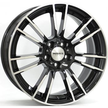 Janta aliaj MONACO MC8 8.5x19 5x112 et30 Black / Polished