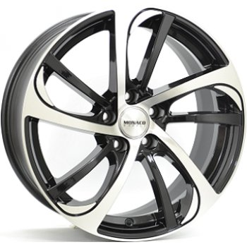 Janta aliaj MONACO MC10 8x18 5x112 et45 Gloss Black / Polished