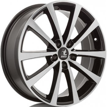 Janta aliaj IT WHEELS ALICE 7x17 5x100 et35 Gloss Black / Polished