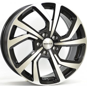 Janta aliaj MONACO PACE 7.5x18 5x108 et45 Gloss Black / Polished