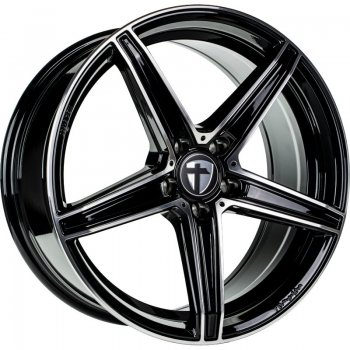Janta aliaj Tomason TN20 NEW 8.5x20 5x108 et45 black polished