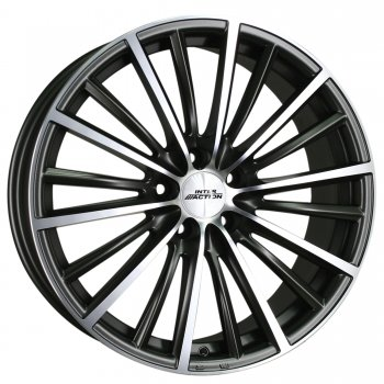 Janta aliaj INTER ACTION VELOCITY 6.5x16 5x114 et45 Anthracite / Polish