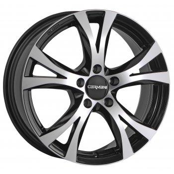Janta aliaj Carmani 09 Compete 6.5x15 5x108 et45 black polish