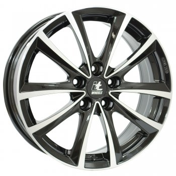 Janta aliaj IT WHEELS ELENA 6.5x16 5x108 et50 Black / Polished