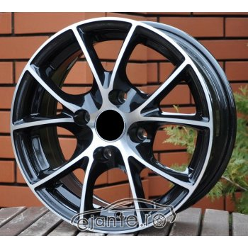 JANTA ALIAJ RACING LINE MIST 6X14 4X108 ET20 BLACK DIAMOND