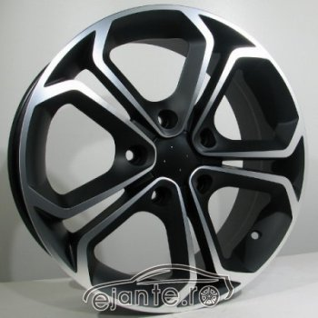 JANTA ALIAJ RACING LINE PARCO 7X16 5X110 ET39 BLACK MATT POLISHED