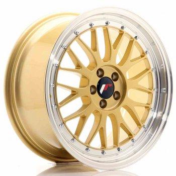 Janta aliaj JAPAN RACING JR23 8.5x18 5x100 et35 Gold