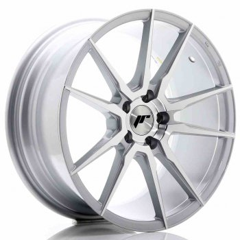 Janta aliaj JAPAN RACING JR21 8.5x18 5x114.3 et40 Machined Face Silver
