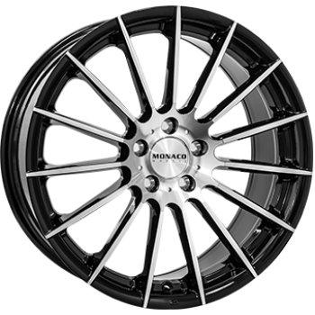 Janta aliaj MONACO FORMULA 7.5x17 4x100 et40 Black / Polished